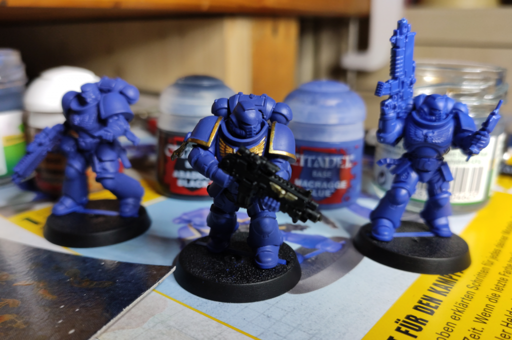 Intercessor Apollon - Space Marine - Ulramarine
