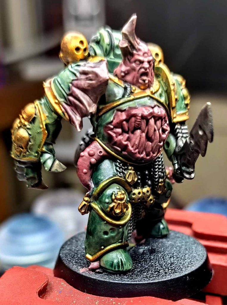 Death Guard in Tabletop Ready State
