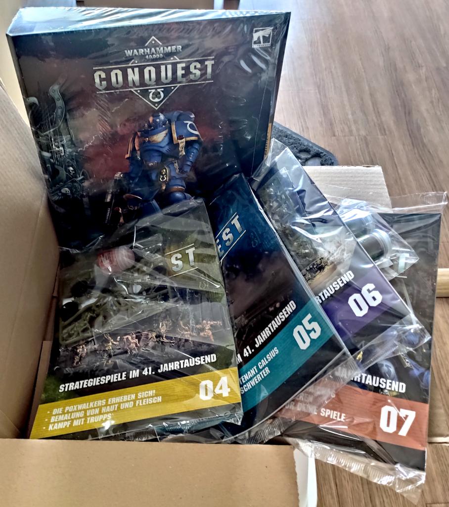 Warhammer 40K Conquest - Ausgabe 4 bis 7 - Ringordner
