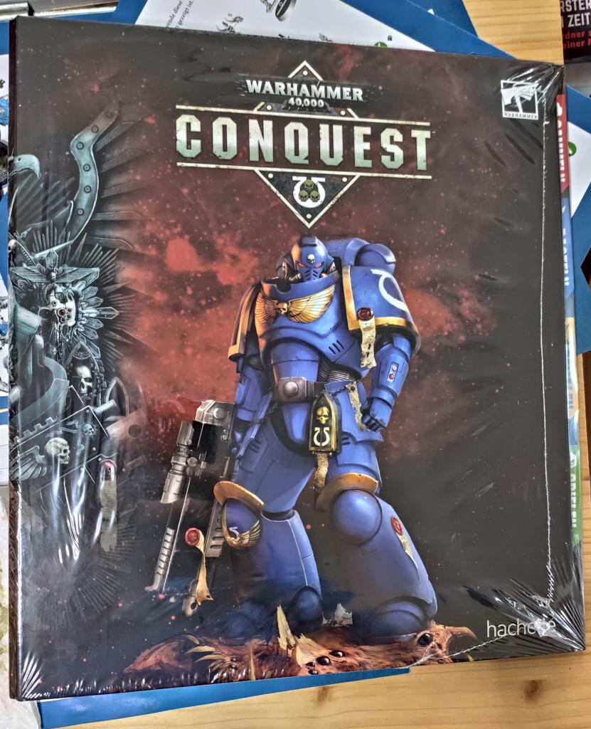 Warhammer 40.000 Conquest Ringordner Vorderseite
