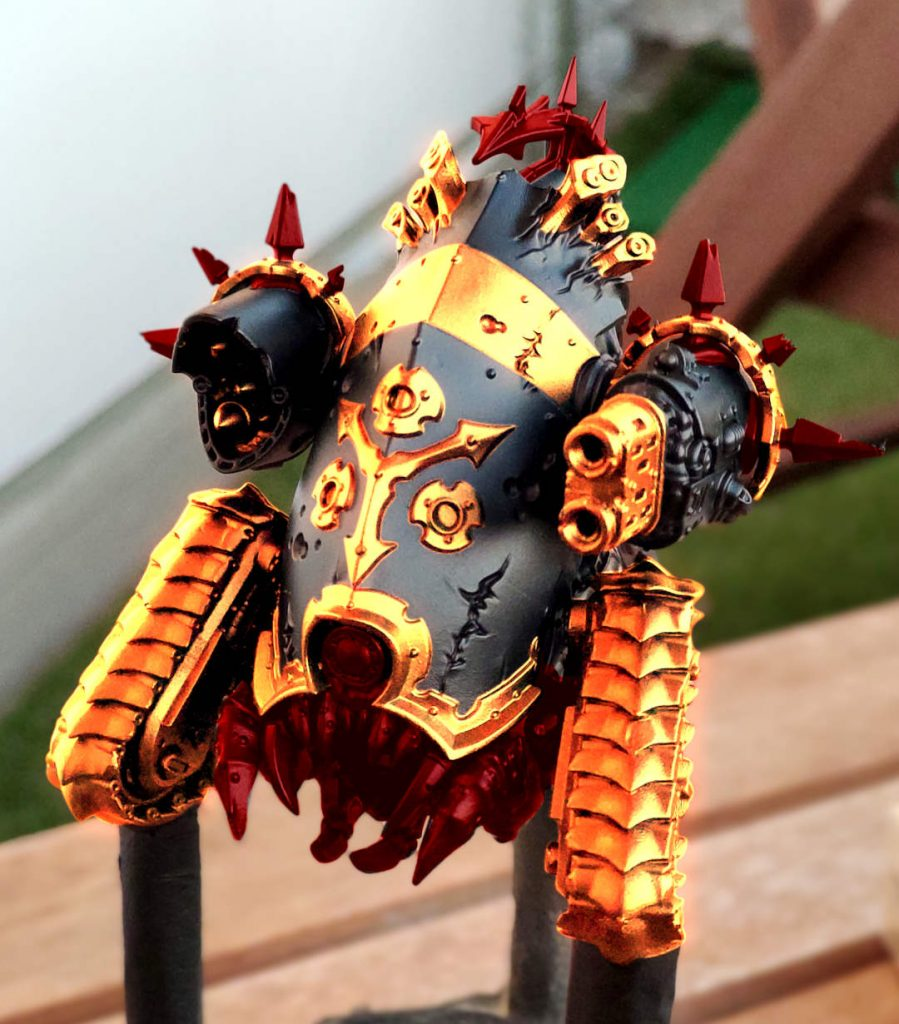 Myphitic Blight-hauler Color Test Red Gold 2 Without Mudguard
