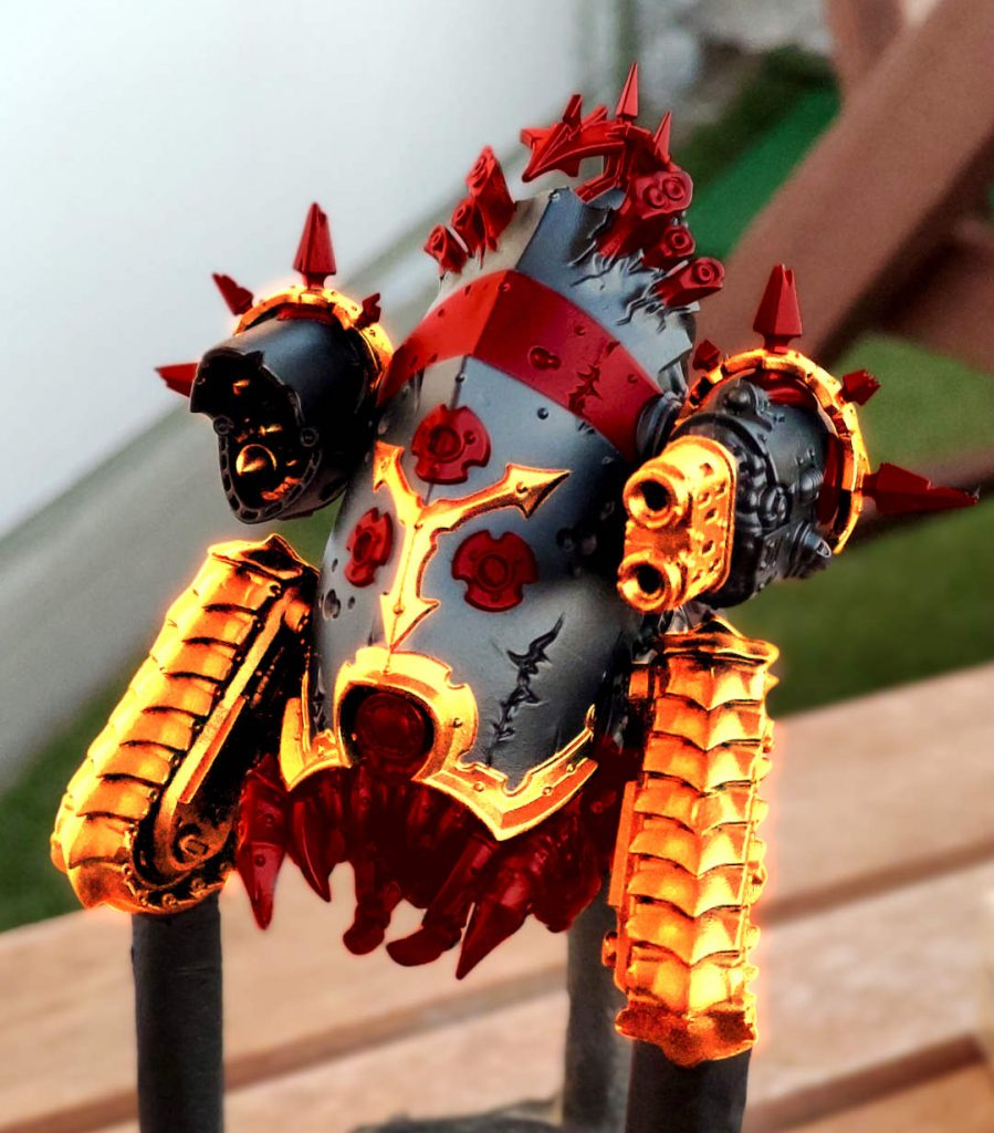 Myphitic Blight-hauler Color Test Red Gold Without Mudguard