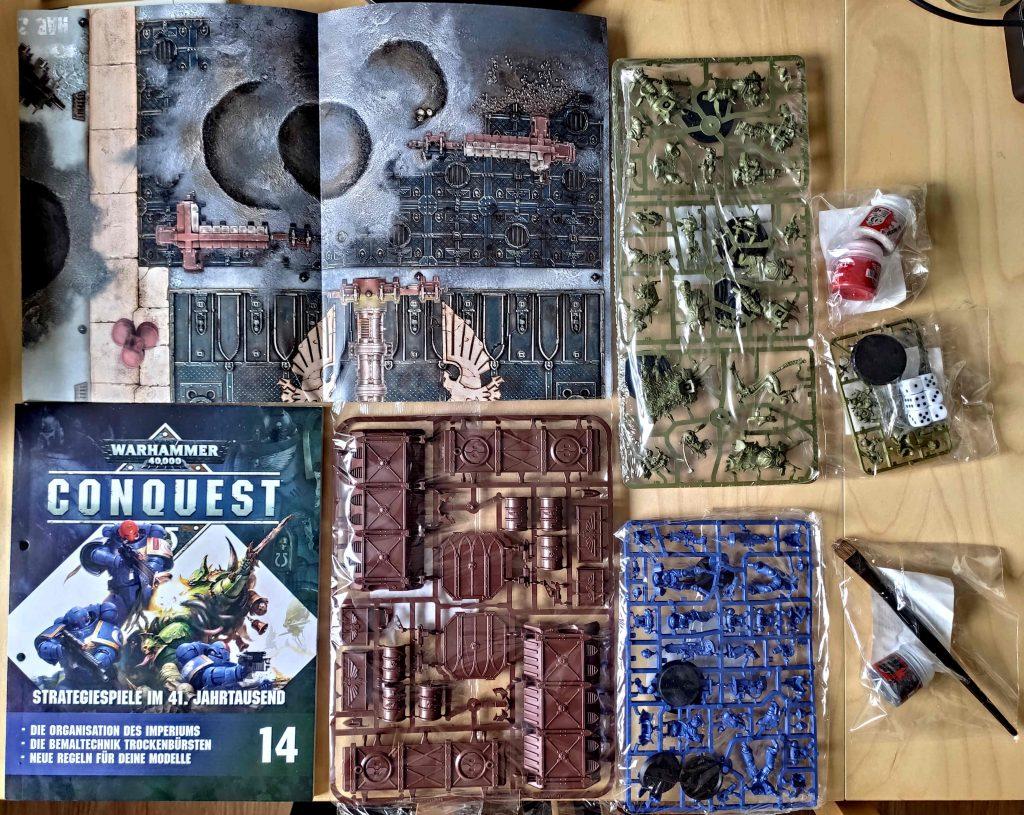 Lieferung Nummer Vier - Warhammer Conquest Sammlung