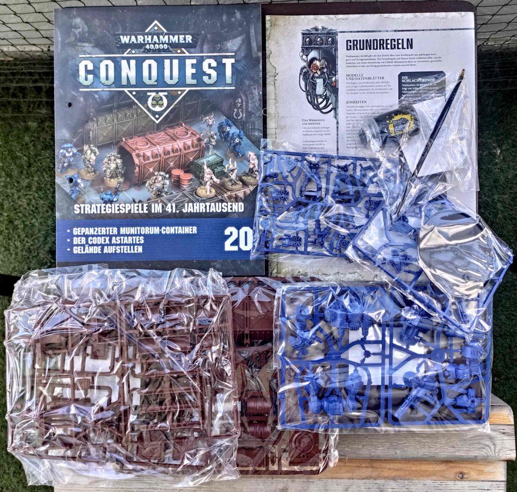Lieferung Nummer fünf - Warhammer Conquest Sammlung