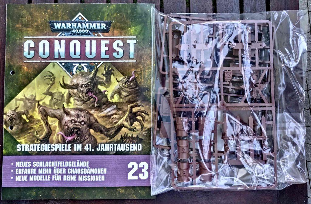 Warhammer 40.000 Conquest Ausgabe 23 - Geländestücken