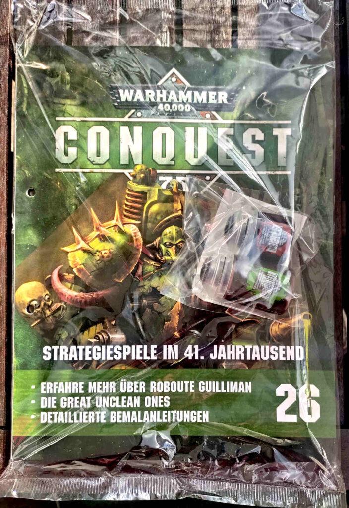 Warhammer 40.000 Conquest Ausgabe 24 - Shade-Farbe Reikland Fleshshade und Abaddon Black