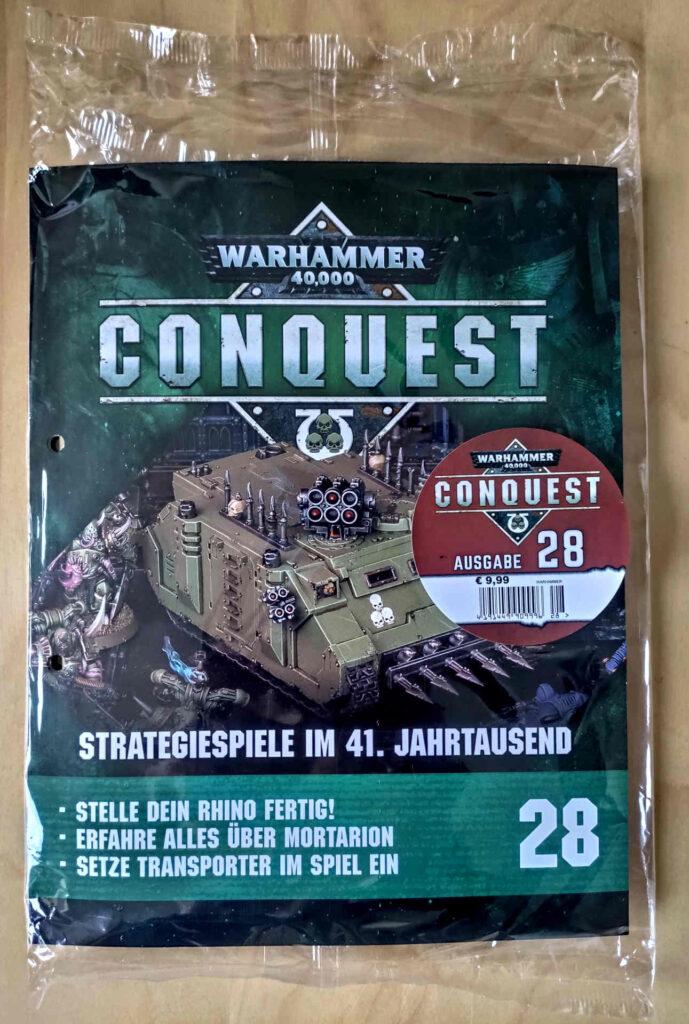 Warhammer 40.000 Conquest Ausgabe 28 - 1/2 Death Guard Chaos Rhino - Front