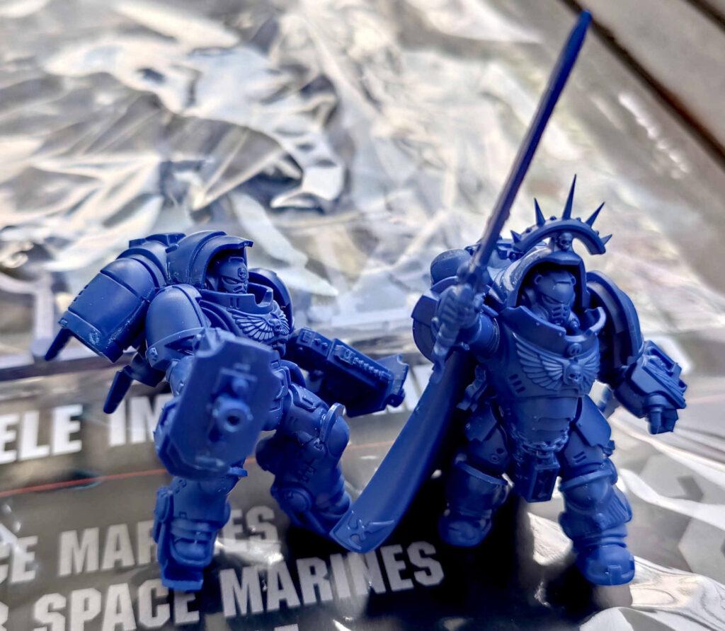 Warhammer 40.000 Conquest Ausgabe 29 - Captain der Space Marines und Inceptor