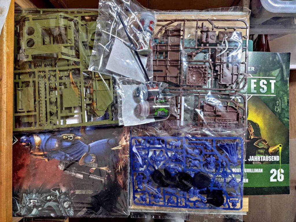 Lieferung Nummer sechs - Warhammer Conquest Sammlung - mit Ringordner
