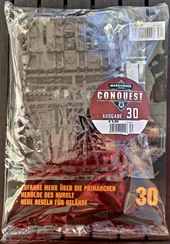 Warhammer 40.000 Conquest Ausgabe 30 - Geländeset der Ryza-Ruinen