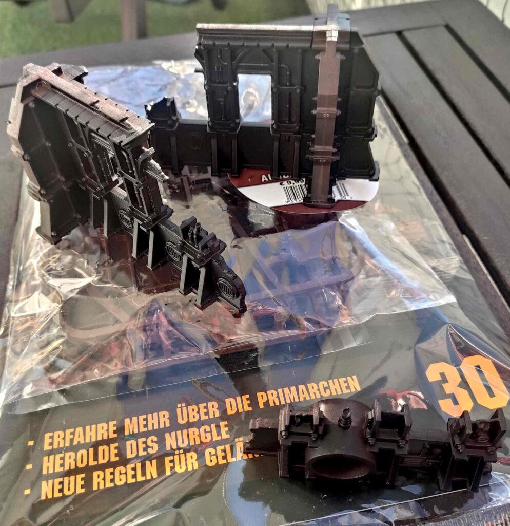 Warhammer 40.000 Conquest Ausgabe 30 - Geländeteile des Ryza-Ruinen