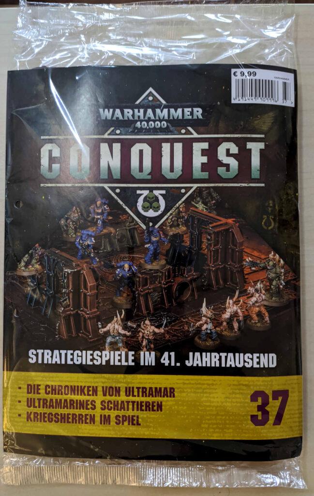 Warhammer 40.000 Conquest Ausgabe 37 - Ruinen von Ryza und einer Himmelsschild-Landeplattform