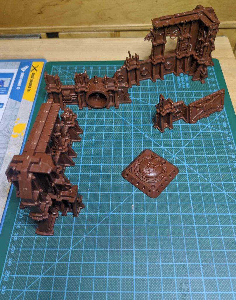 Warhammer 40.000 Conquest Ausgabe 37 - Ruinen von Ryza - oben vorn