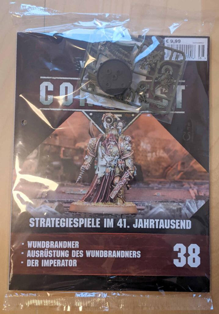 Warhammer 40.000 Conquest Ausgabe 38 - Wundbrandner der Death Guard und einer neuen Spielmatte
