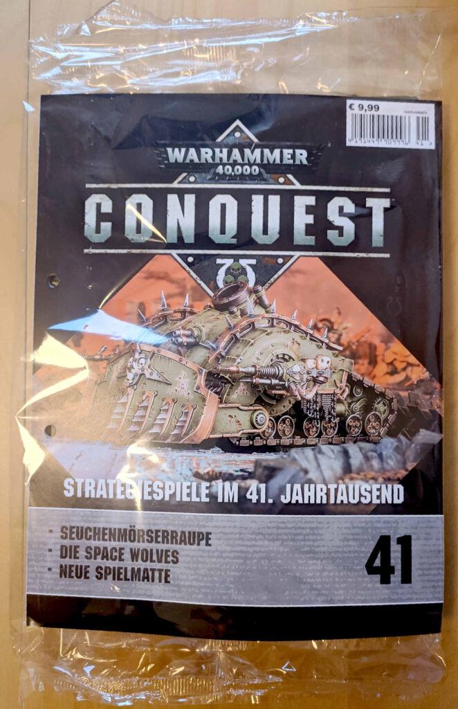Warhammer 40.000 Conquest Ausgabe 41 - ersten Teil der Seuchenmörserraupe