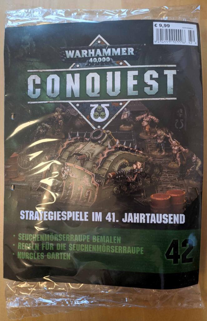 Warhammer 40.000 Conquest Ausgabe 42 - zweiter Teil der Seuchenmörserraupe