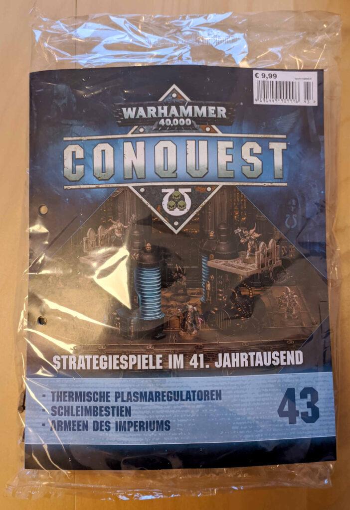 Warhammer 40.000 Conquest Ausgabe 43 - Thermischen Plasmaregulatoren