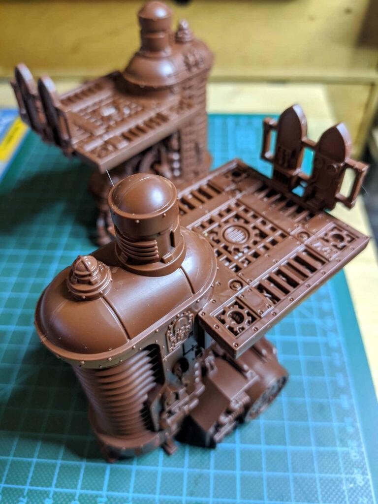 Warhammer 40.000 Conquest Ausgabe 43 - Thermischen Plasmaregulatoren - hinten oben