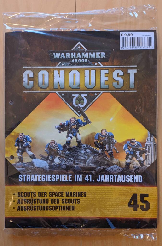 Warhammer 40.000 Conquest Ausgabe 45 - Scouts der Space Marines