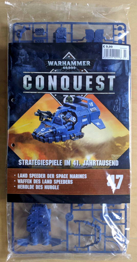 Warhammer 40.000 Conquest Ausgabe 47 - Lands Speeder - Cover