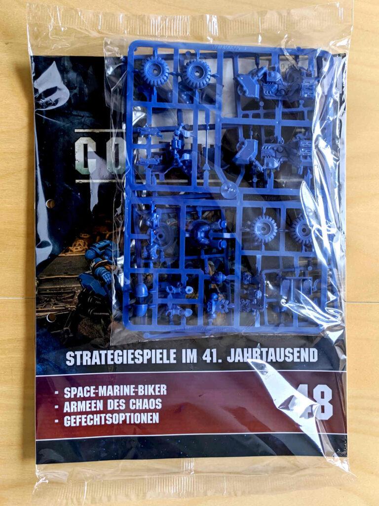 Warhammer 40.000 Conquest Ausgabe 48 - Space Marine Biker - Cover