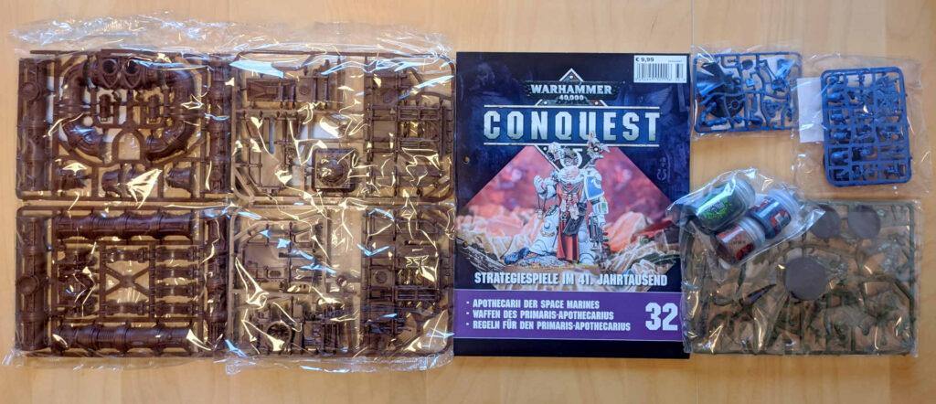 Lieferung Nummer sieben - Warhammer Conquest Sammlung