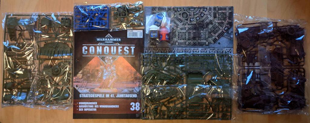 Lieferung Nummer acht - Warhammer Conquest Sammlung
