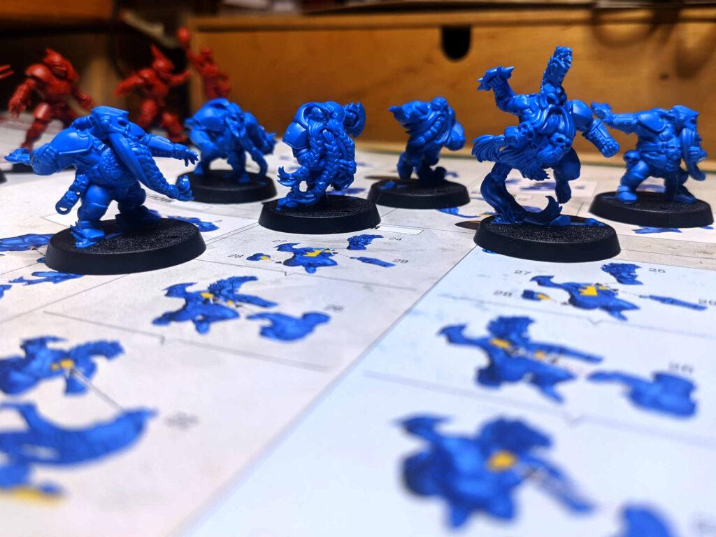 Blitz Bowl - Season 2 - Team Blue Dwarf