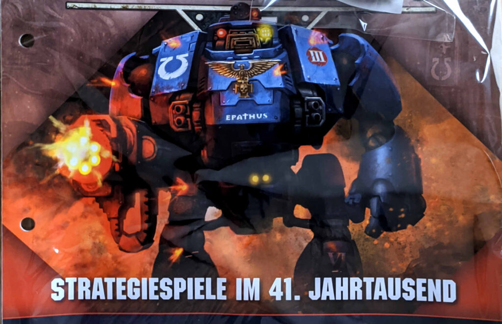 Warhammer 40.000 Conquest Ausgabe 49 - Cover Zoom in dreadnought