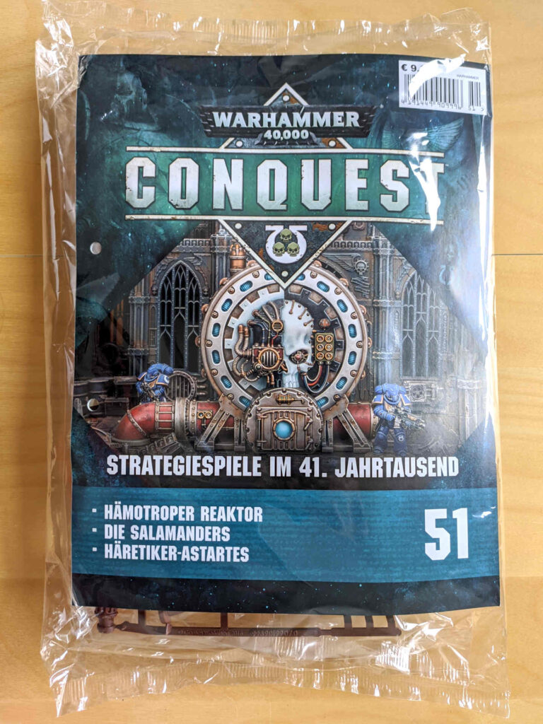 Warhammer 40.000 Conquest Ausgabe 51 - Hämotropen Reaktor - Cover