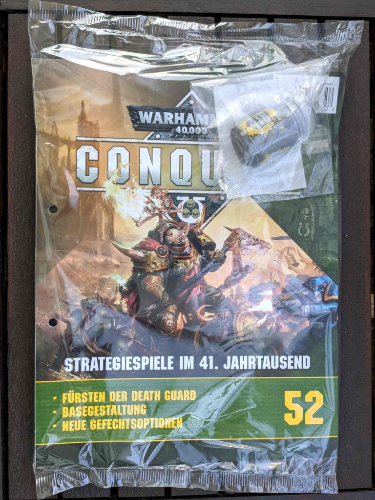 Warhammer 40.000 Conquest Ausgabe 52 - Farbe Astrogranite - Cover