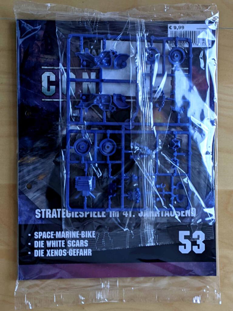 Warhammer 40.000 Conquest Ausgabe 52 - ein Space-Marine-Biker - Cover