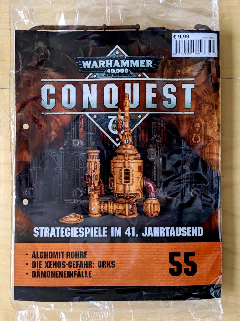 Warhammer 40.000 Conquest Ausgabe 55 - Alchomit-Rohre - Cover