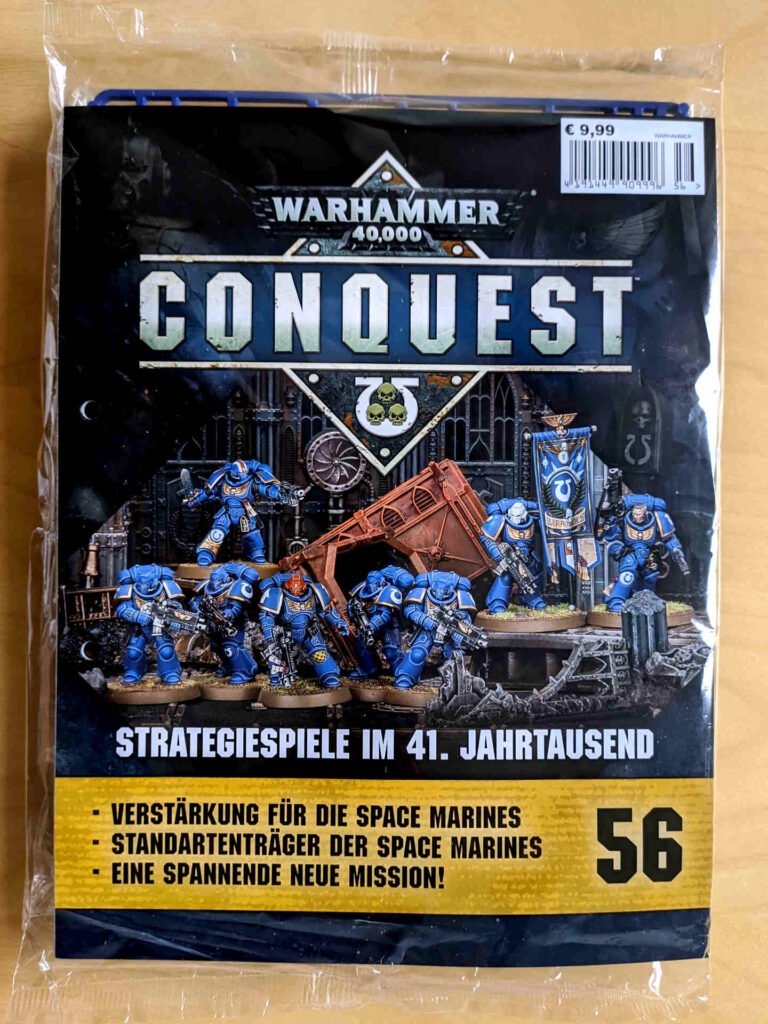 Warhammer 40.000 Conquest Ausgabe 56 - Verstärkung für die Space Marines - Cover
