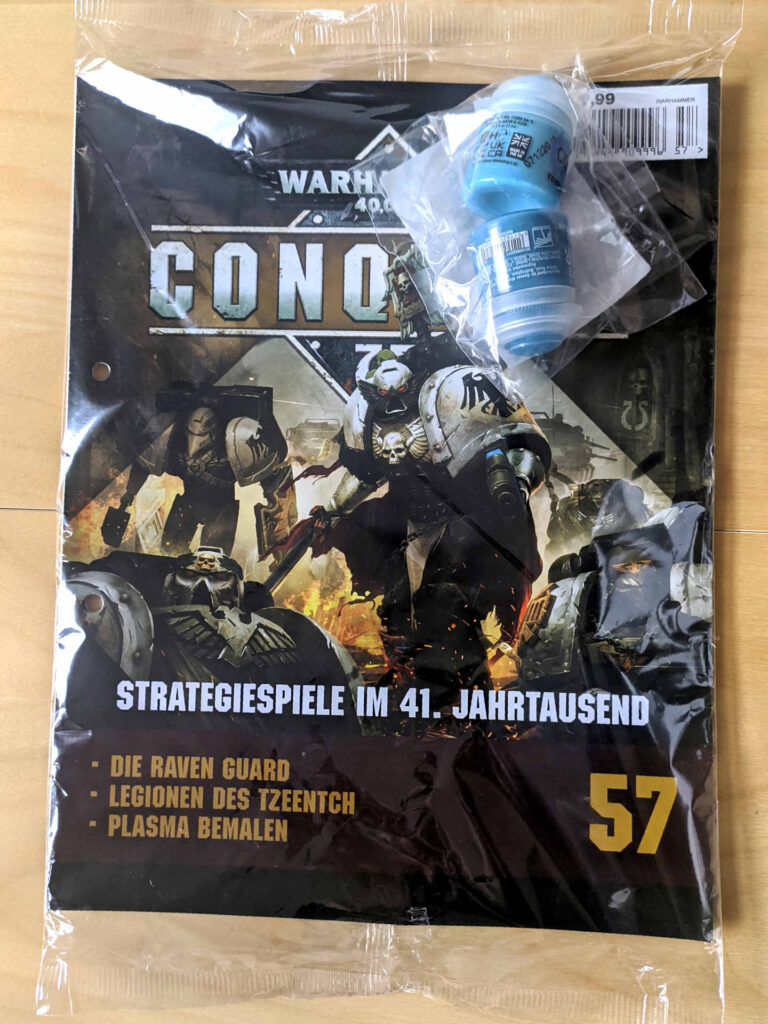 Warhammer 40.000 Conquest Ausgabe 57 - Thousand Sons Blue und Temple Guard Blue - Cover