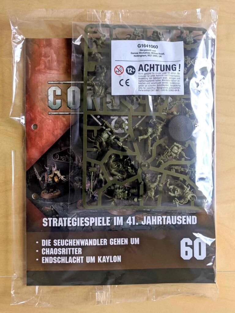 Warhammer 40.000 Conquest Ausgabe 60 - Seuchenmarine-Hirten - Cover