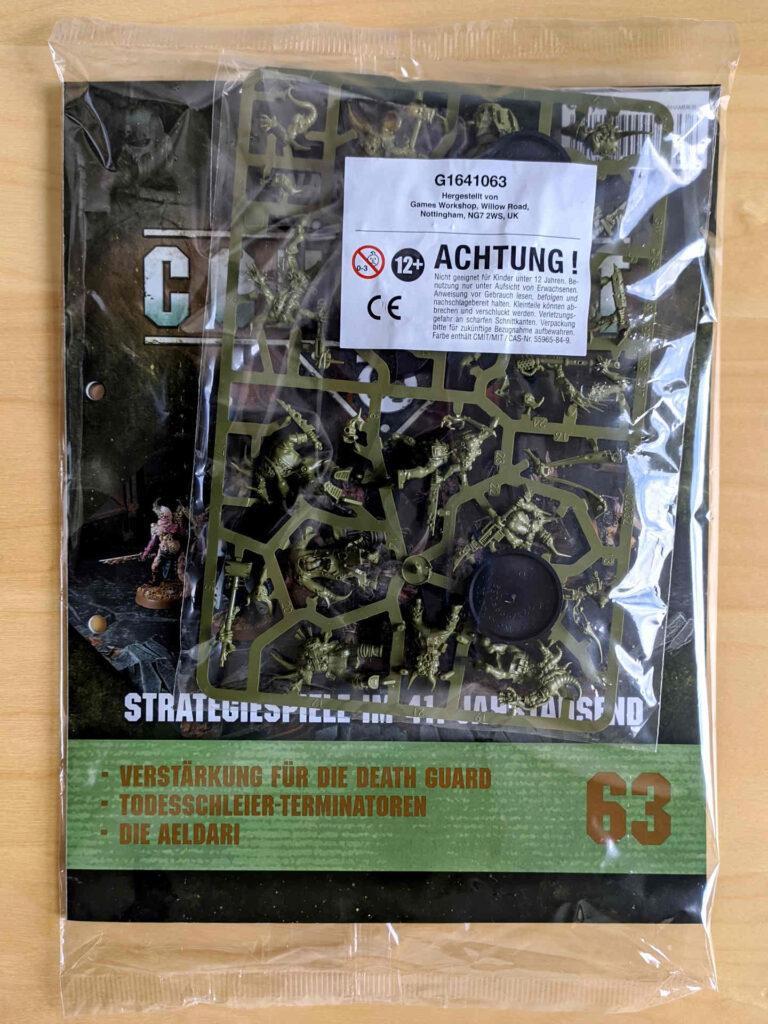 Warhammer 40.000 Conquest Ausgabe 63 - Death Guard - Cover