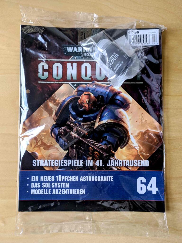 Warhammer 40.000 Conquest Ausgabe 64 - Astrogranite - Cover