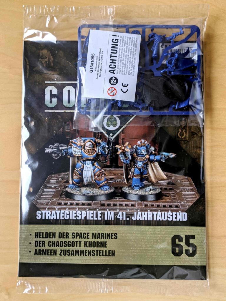 Warhammer 40.000 Conquest Ausgabe 65 - Captains der Ultramarines - Cover