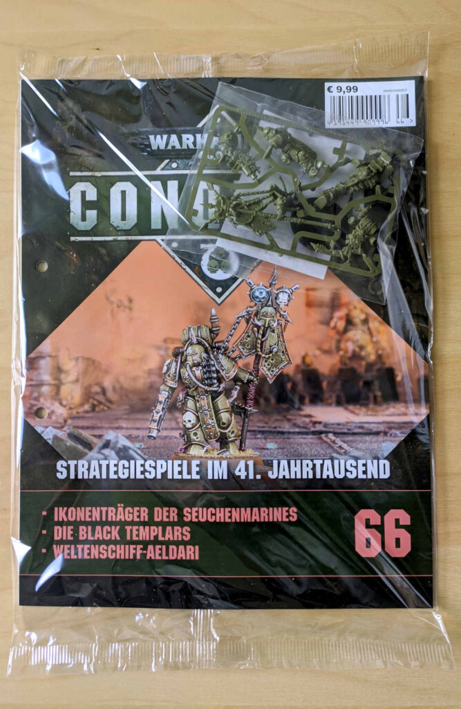 Warhammer 40.000 Conquest Ausgabe 66 - Ikonenträger der Seuchenmarines - Cover