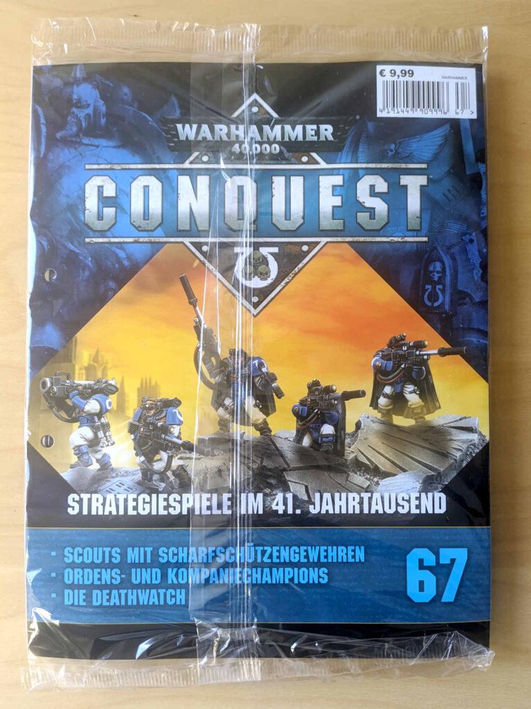Warhammer 40.000 Conquest Ausgabe 67 - Scouts der Space Marines - Cover