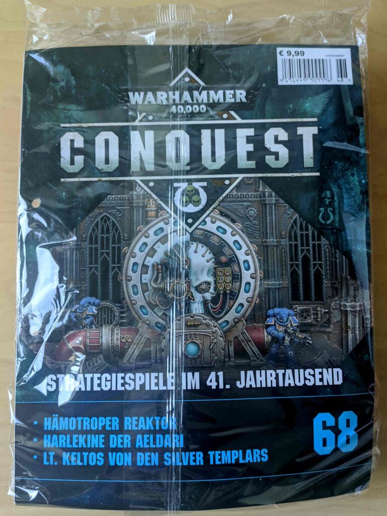 Warhammer 40.000 Conquest Ausgabe 68 - Hämotropen Reaktor Marines - Cover