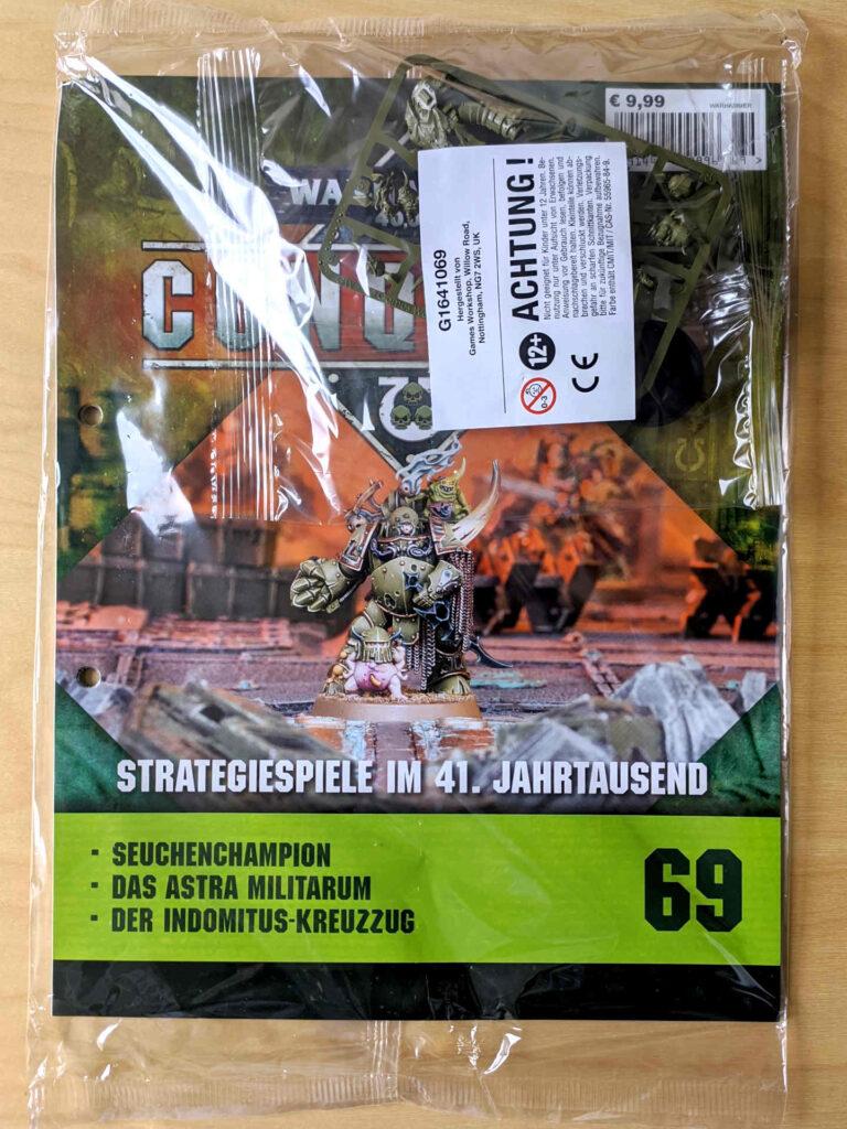 Warhammer 40.000 Conquest Ausgabe 69 - Plague Marine Champion - Cover